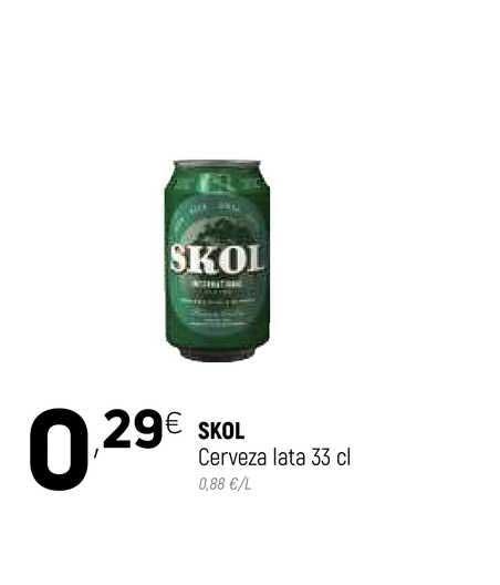 Coviran Skol Cerveza Lata 33 Cl