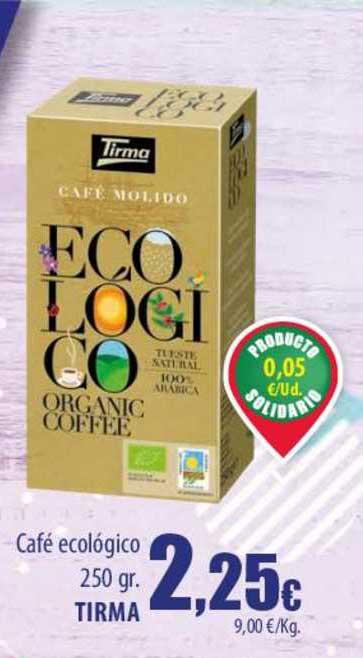 Spar Lanzarote Café Ecológico 250 Gr. Tirma