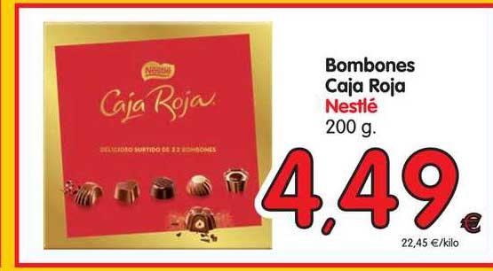 Alimerka Bombones Caja Roja Nestlé 200 G