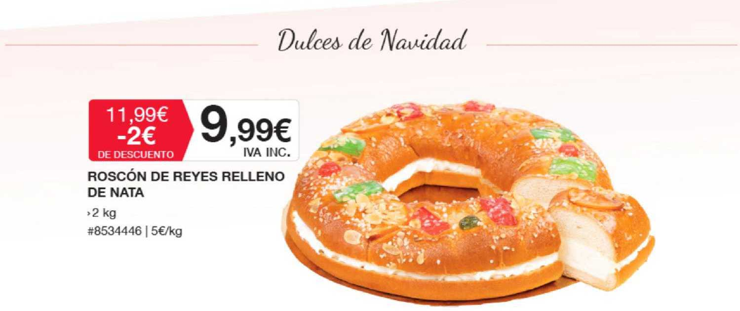 Costco Roscón De Reyes Relleno De Nata