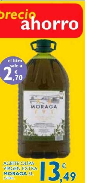 Supermercados La Despensa Aceite Oliva Virgen Extra Moraga 5 L