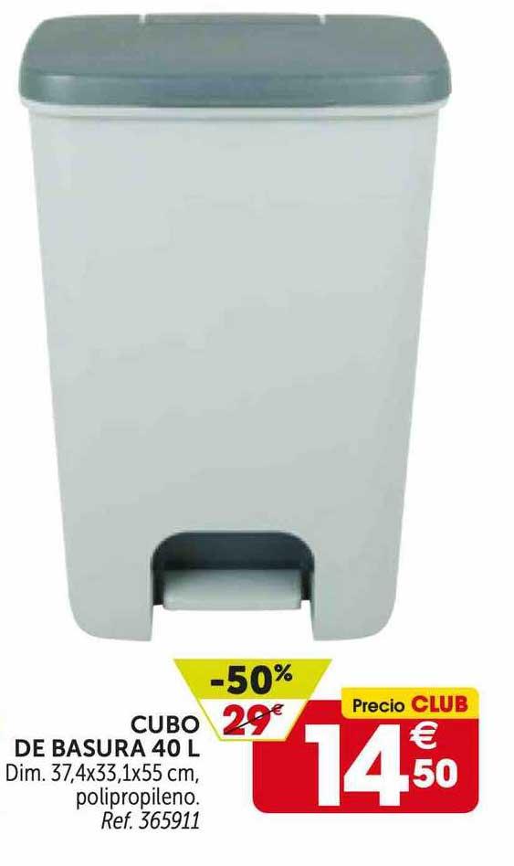 GiFi -50% Cubo De Basura 40 L