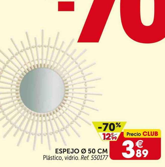 GiFi -70% Espejo 50 Cm