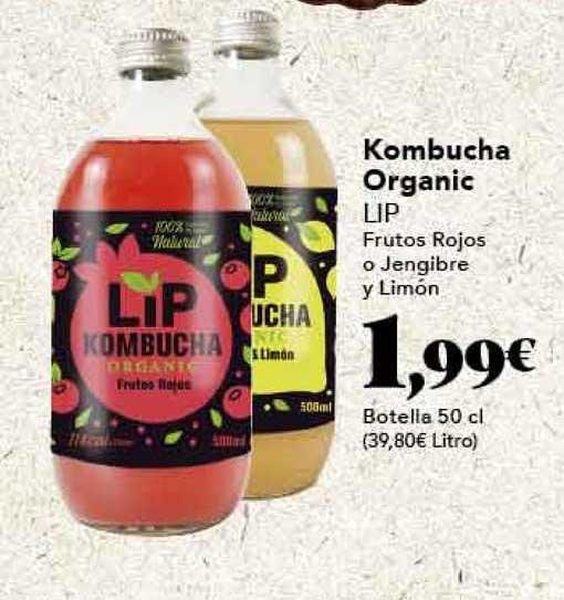 Gadis Kombucha Organic Lip