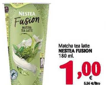 Alimerka Matcha Tea Latte Nestea Fusion