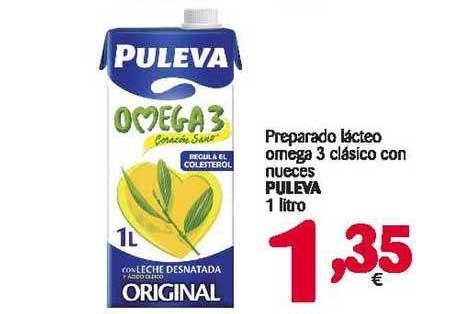 Alimerka Preparado Lácteo Omega 3 Clásico Con Nueces Puleva