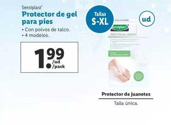 LIDL Sensiplast Protector De Gel Para Pies