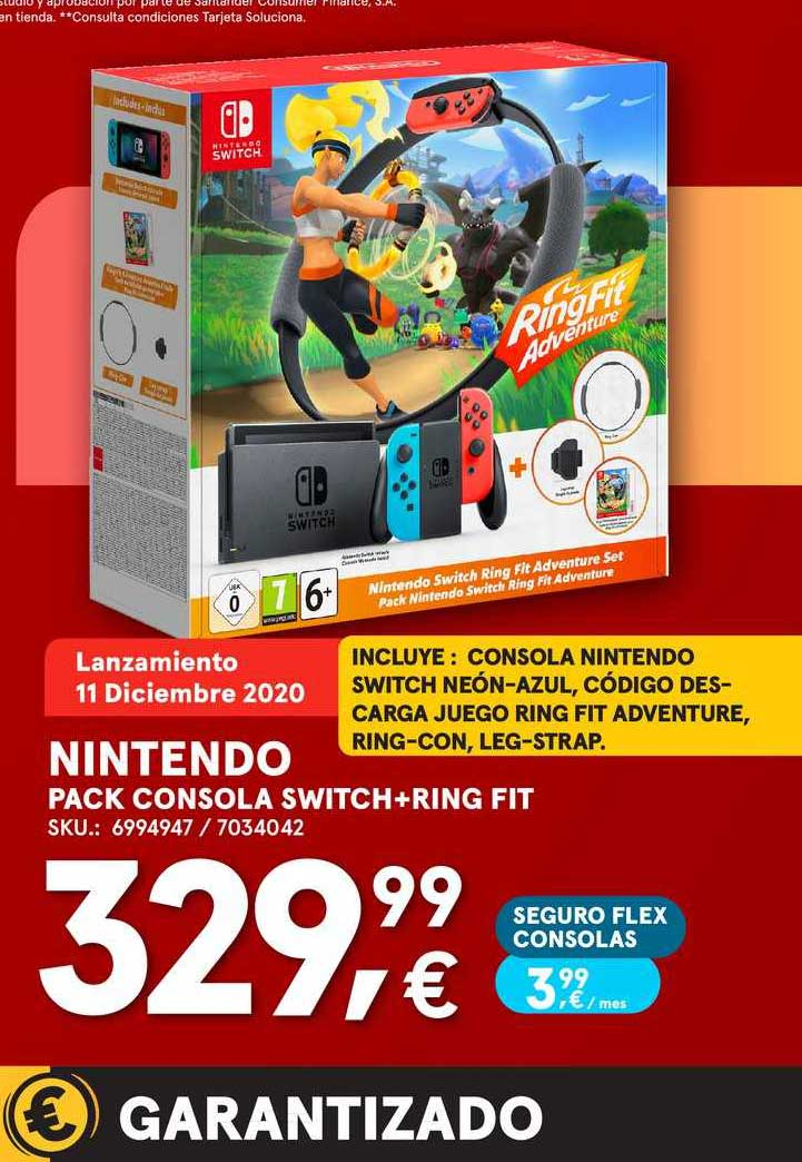 Worten Nintendo Pack Consola Switch+ring Fit