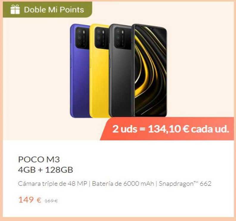 Xiaomi Poco M3 4gb + 128gb