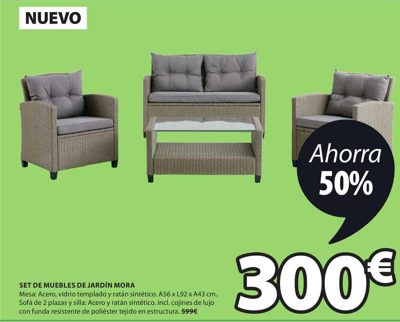 JYSK Nuevo Set De Muebles De Jardín Mora
