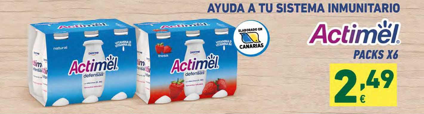 HiperDino Actimel Packs X6