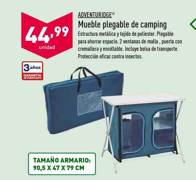 ALDI Adventuridge Mueble Pledgable De Camping