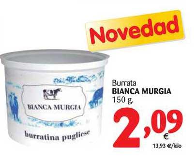 Alimerka Burrata Bianca Murgia