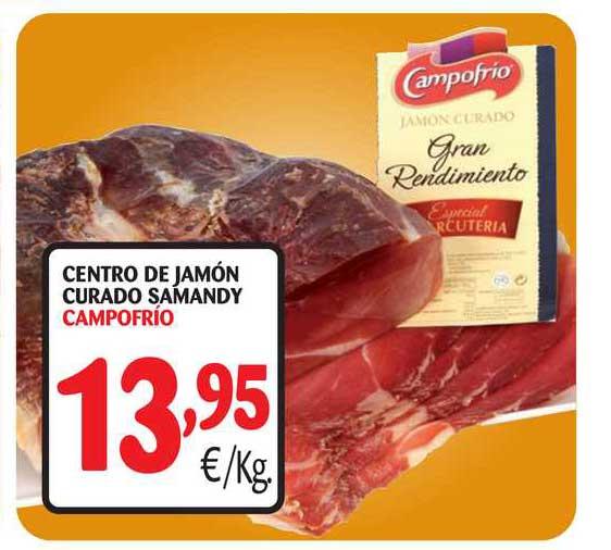 Alimerka Centro De Jamon Curado Samandy Campofrio