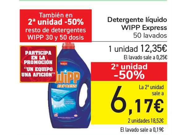Carrefour Express Detergente Líquido Wipp Express
