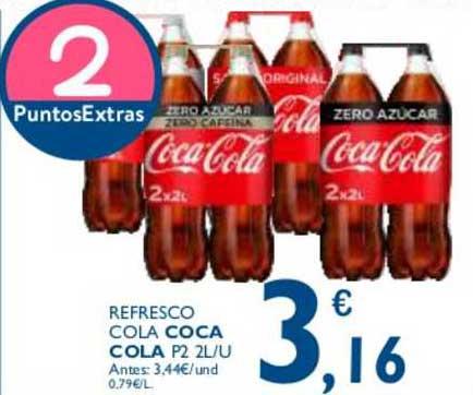 Cash Ecofamilia Refresco Cola Coca Cola