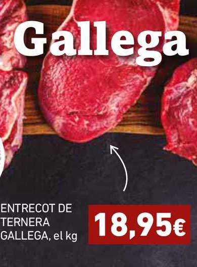 HiperDino Entrecot De Ternera Gallega, El Kg