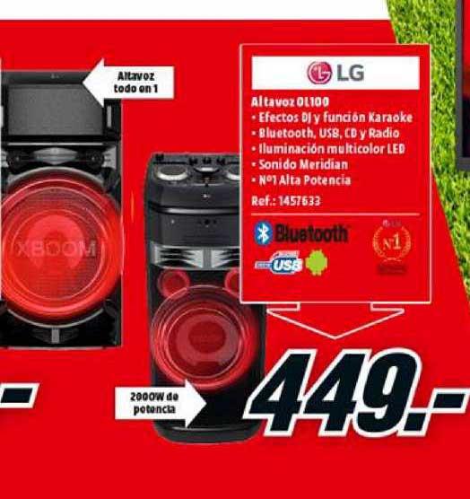 MediaMarkt LG Altavoz OL100