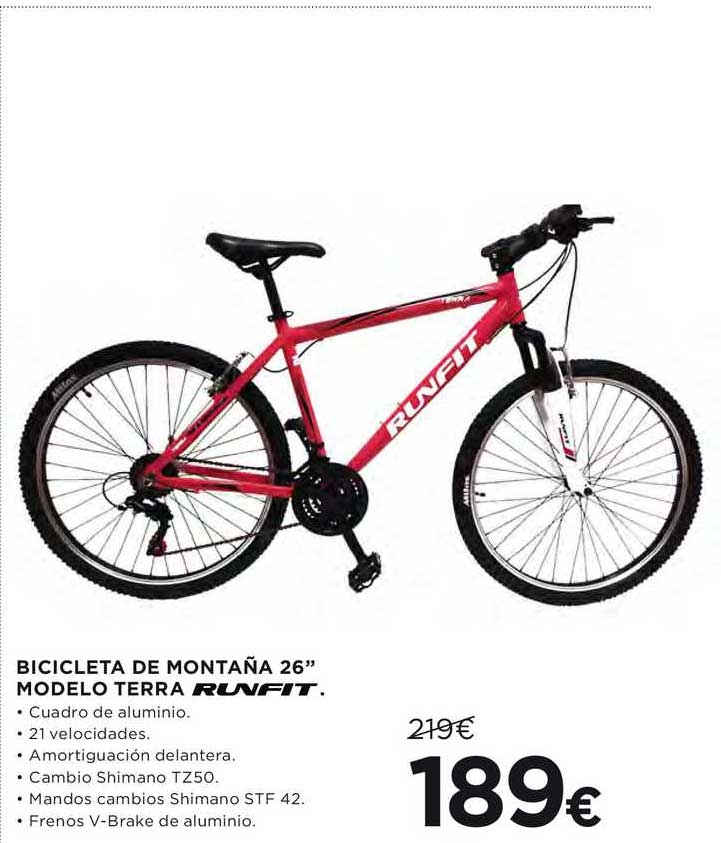 Hipercor Bicicleta De Montaña 26