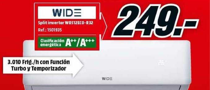 MediaMarkt Wide Split Inverter Wds12eco-r32