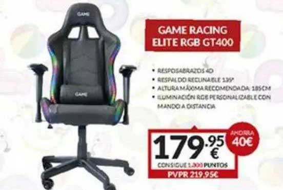 Game Game Racing Elite Rgb Gt400