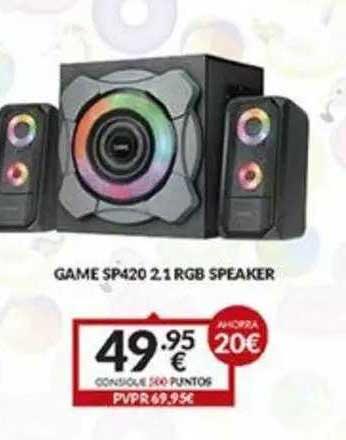 Game Game Sp420 2.1 Rgb Speaker