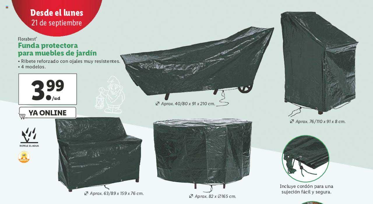 LIDL Florabest Funda Protectora Para Muebles De Jardín