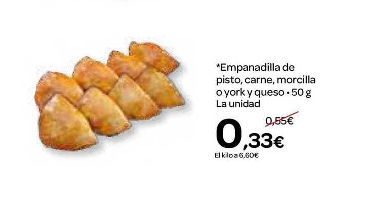 Dialprix Empanadilla De Pisto, Carne, Morcilla O York Y Queso La Unidad