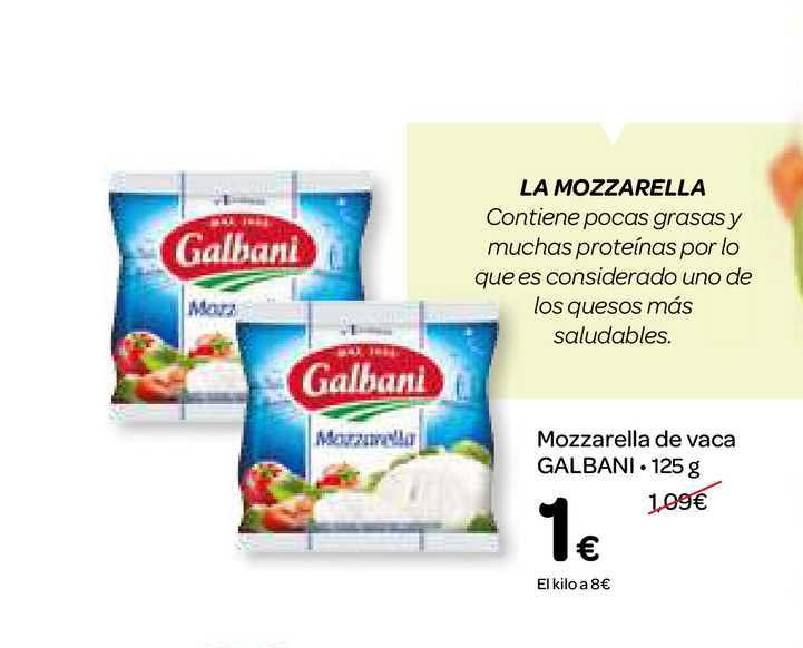 Dialprix Mozzarella De Vaca Galbani