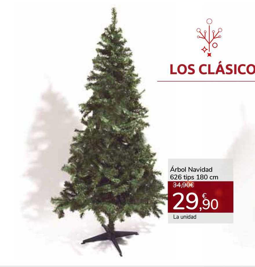 Oferta árbol Navidad 626 Tips 180 Cm En Carrefour