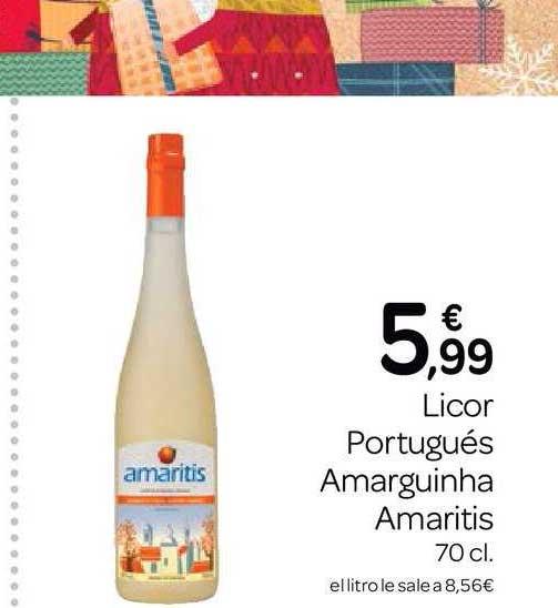 Supermercados El Jamón Licor Portugués Amarguinha Amaritis