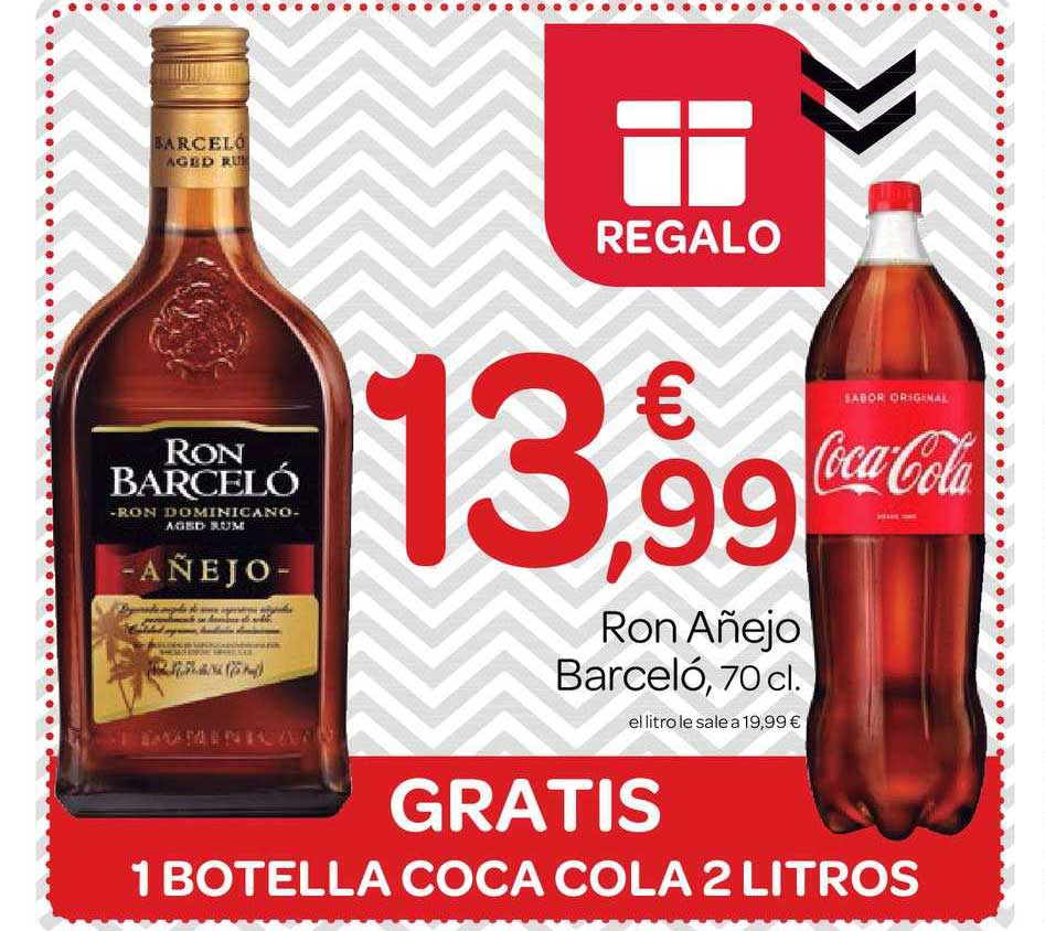 Supermercados El Jamón Ron Añejo Barceló