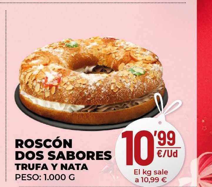 AhorraMas Roscón Dos Sabores