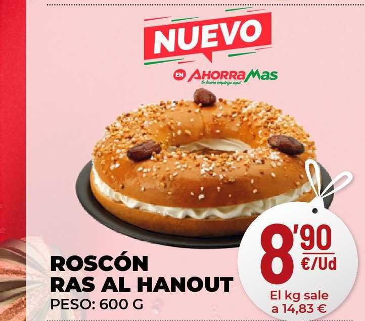 AhorraMas Roscón Ras Al Hanout