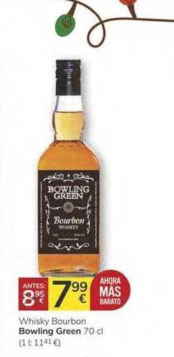 Consum Whisky Bourbon Bowling Green 70 Cl
