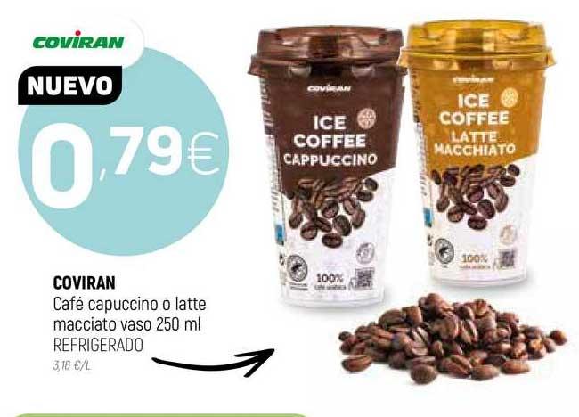 Coviran Coviran Café Capuccino O Latte Mecciato Vaso Refrigerado