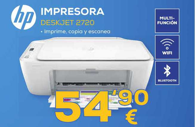Euronics Impresora Deskjet 2720 Hp