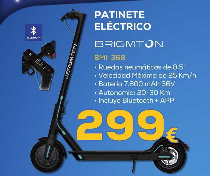 Euronics Patinete Eléctrico Brigmton Bmi-368