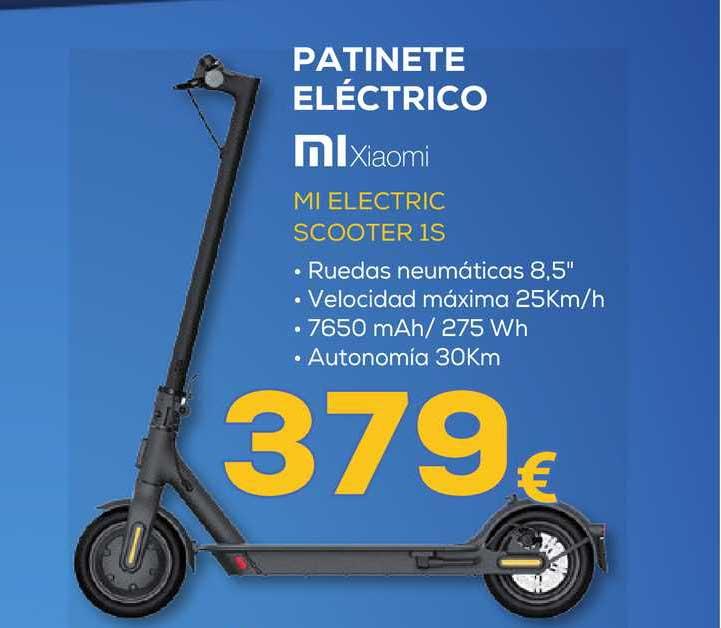 Euronics Patinete Eléctrico Mixiaomi Mi Electric Scooter 1s