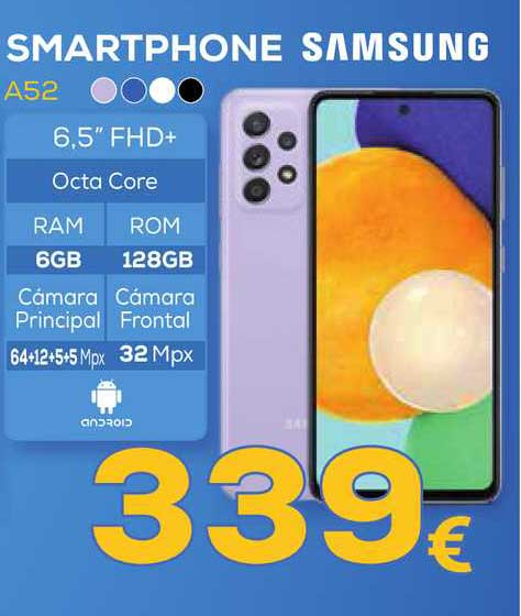 Euronics Smartphone A52 Samsung