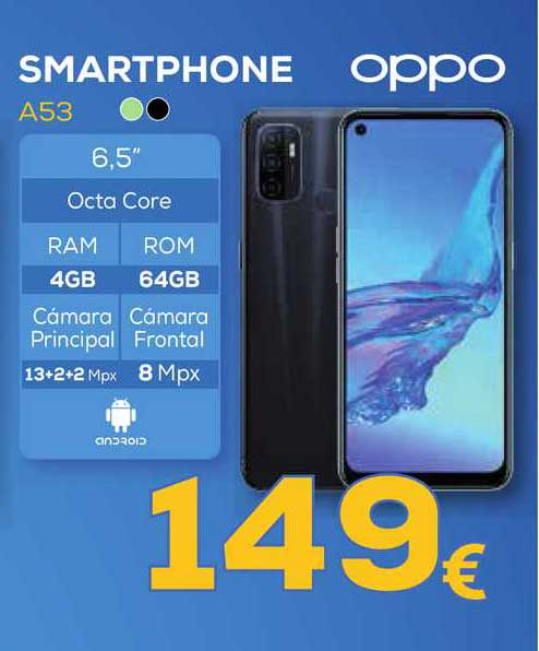 Euronics Smartphone A53 Oppo