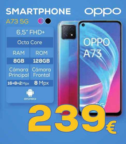Euronics Smartphone A73 5g Oppo