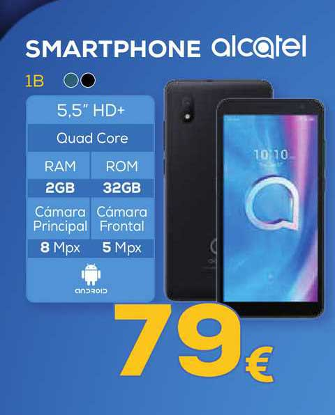 Euronics Smartphone 1b Alcatel