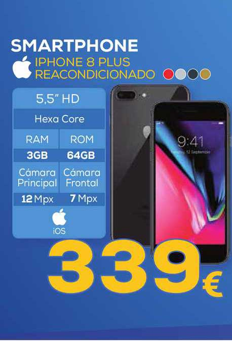 Euronics Smartphone Iphone 8 Plus Reacondicionado