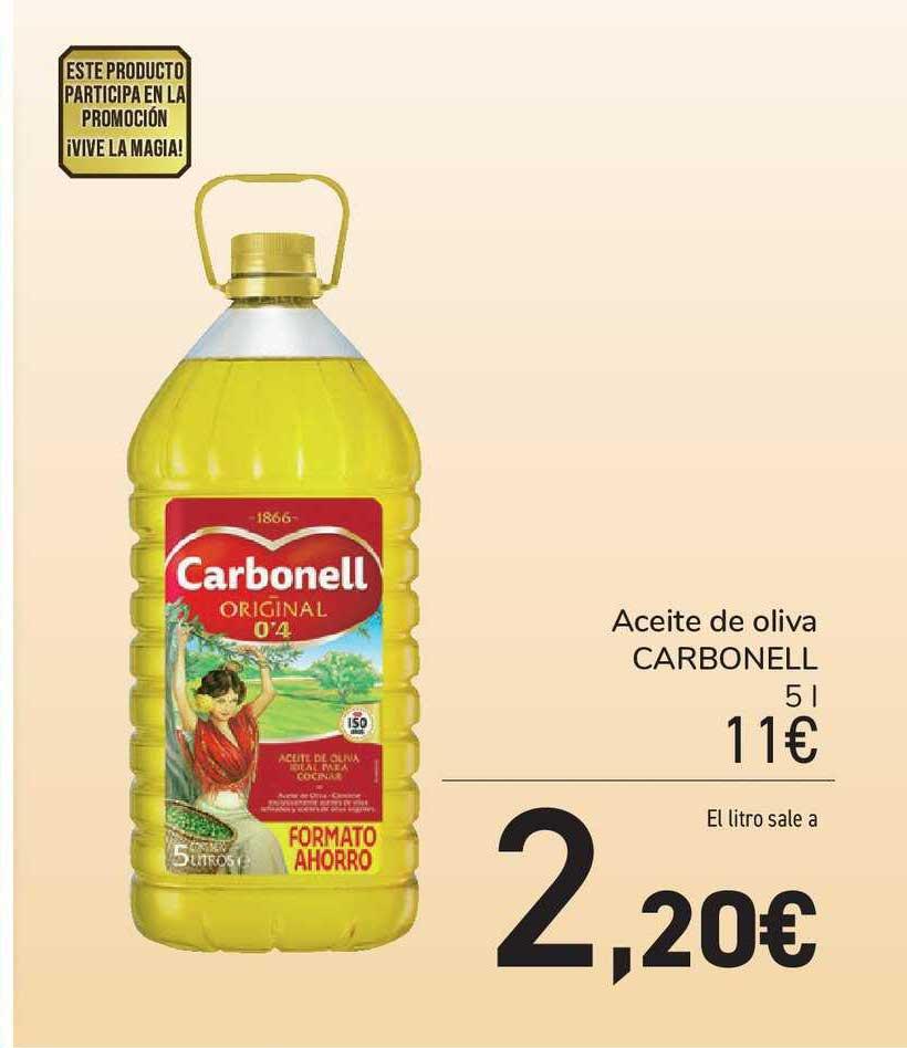 Carrefour Market Aceite De Oliva Carbonell 5 L