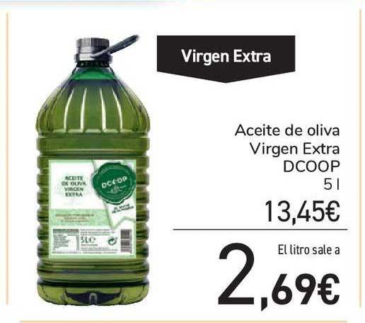 Carrefour Market Aceite De Oliva Virgen Extra Dcoop 5 L