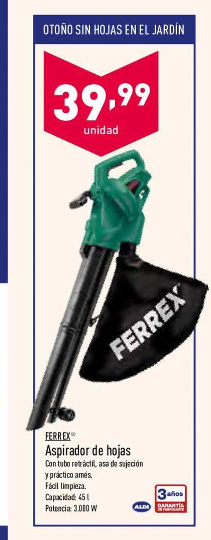 ALDI Ferrex Aspirador De Hojas