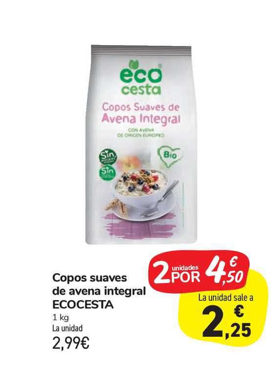 Carrefour Market Copos Suaves De Avena Integral Ecocesta