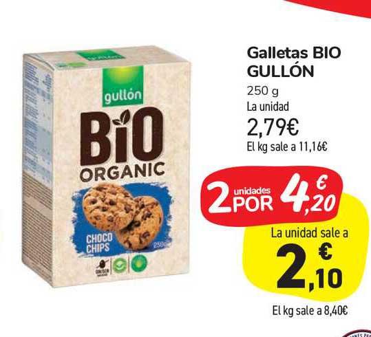 Carrefour Market Galletas Bio Gullón