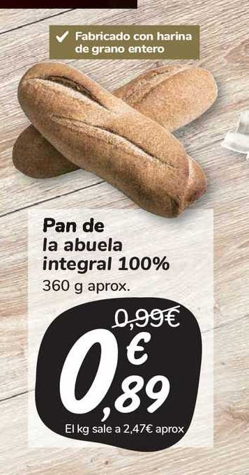 Carrefour Market Pan De La Abuela Integral 100%